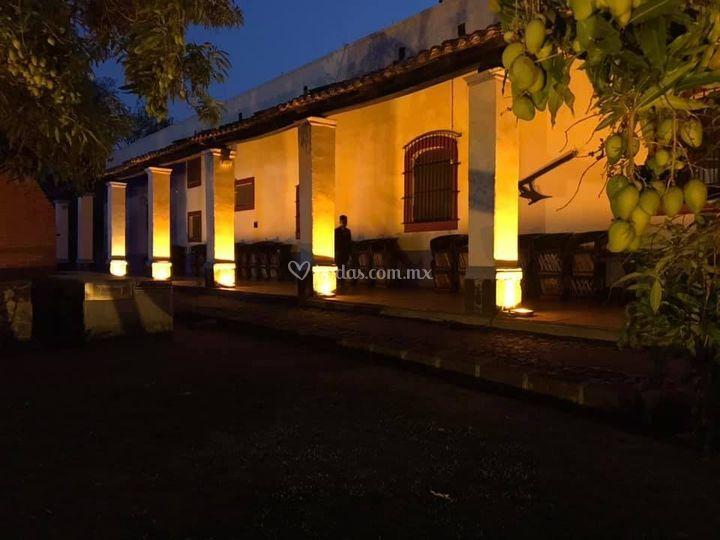 Iluminación de hacienda