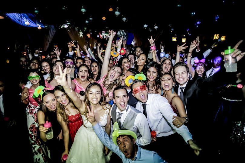 Todos en la fiesta