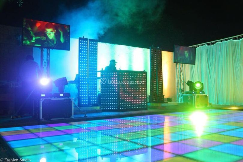 Música e iluminación