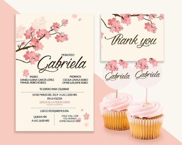 Invitación Cereza