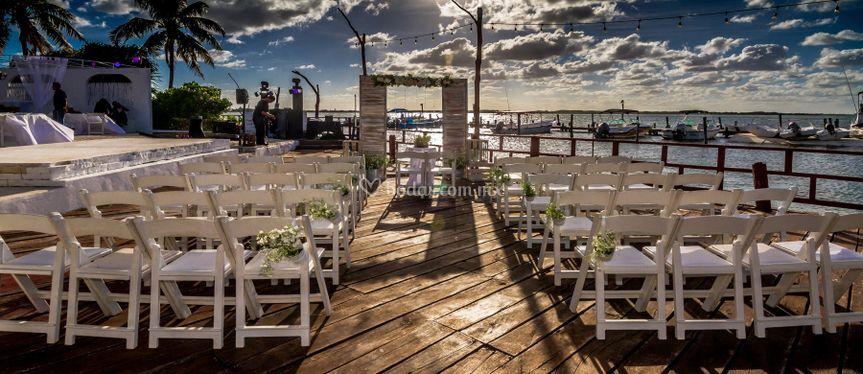 Ceremonias en el deck