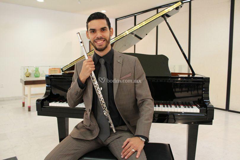 Director & flauta