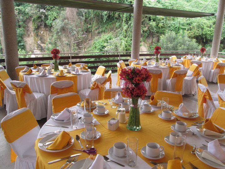 Mesa montada para desayuno de antoine dansac eventos foto 43 - Mesas de desayuno ...