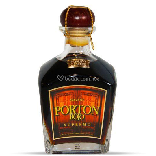 Brandy artesanal Porton Rojo