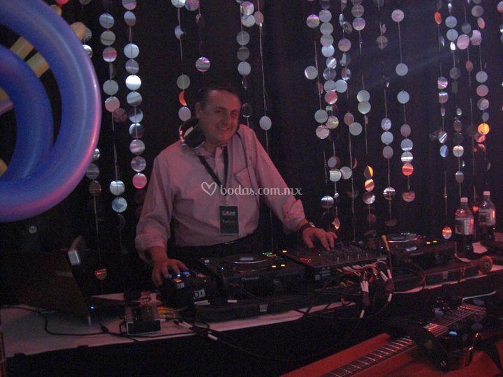 DJ en acción!