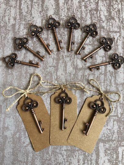 Destapador forma llave