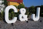 Letras gigantes 3D en