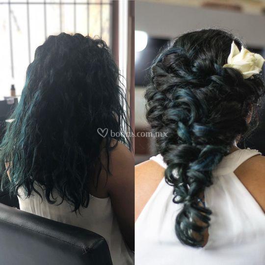 Peinados con glamour