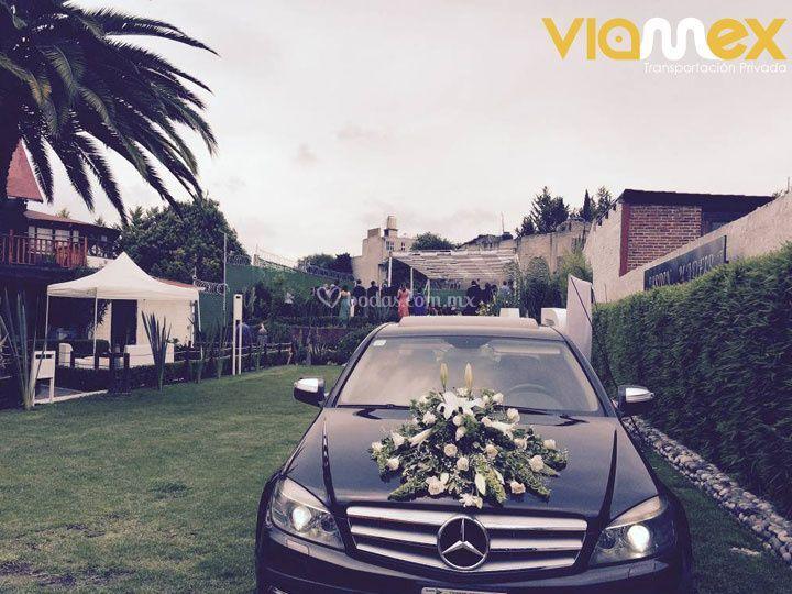 Renta de autos para bodas