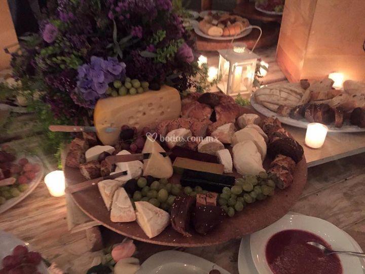Mesa quesos