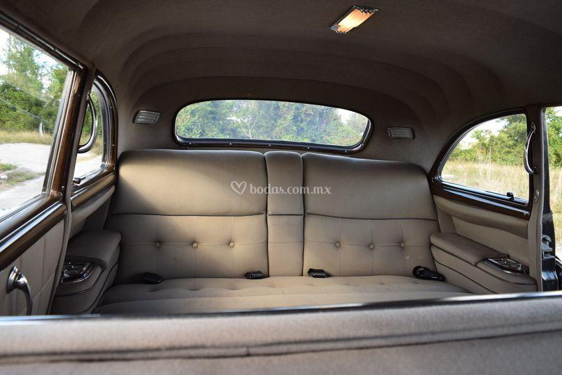 Interior Cadillac Limo