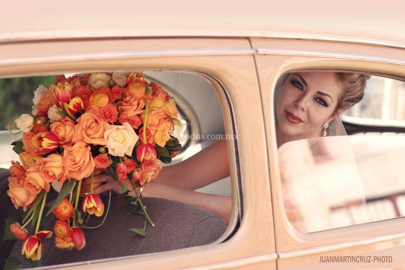 Auto de novia