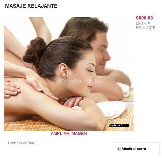 Regalo masaje