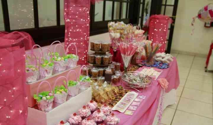 Mesa de dulces Salón Veracruz