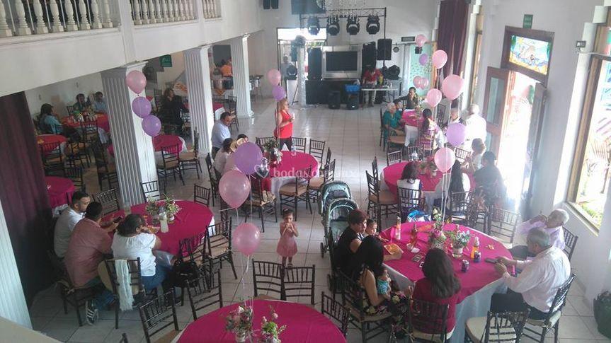 Boreal sal n de eventos for Organizar salon
