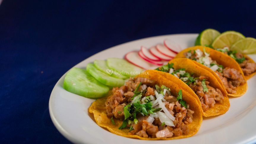 Platillos populares   Tacos