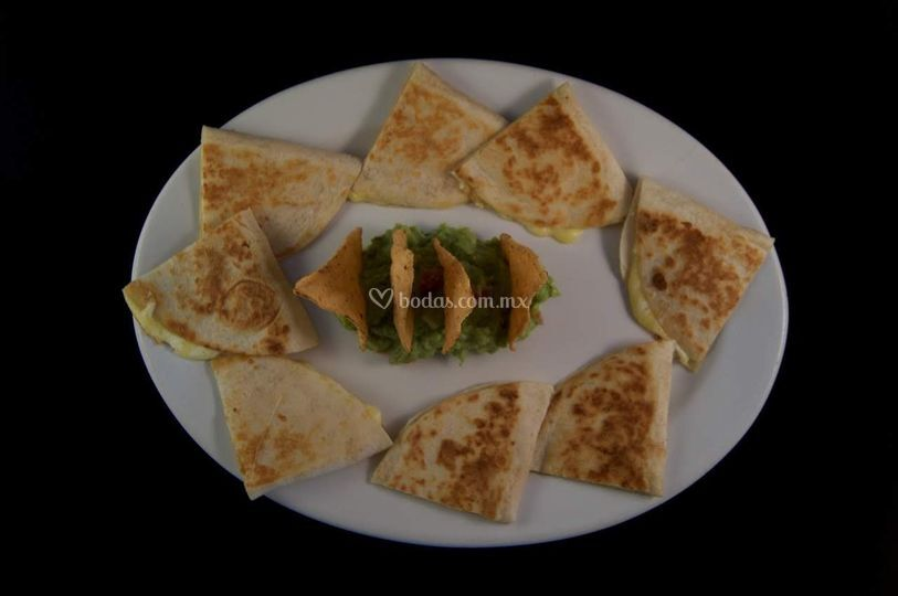 Platillo quesadillas
