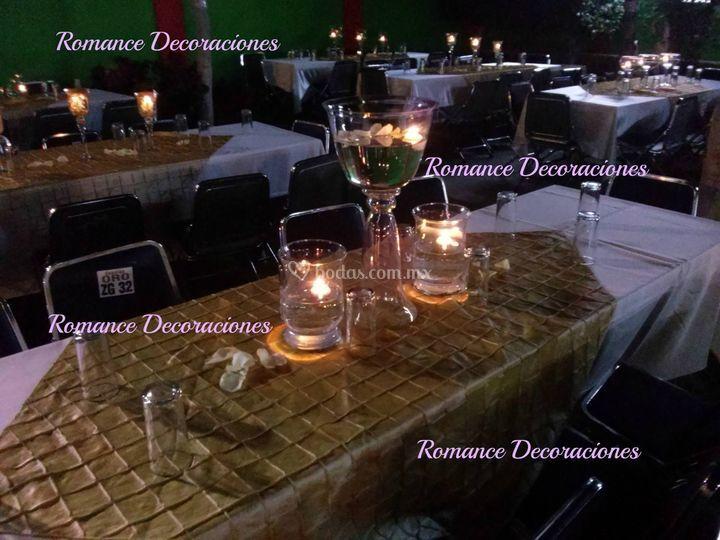 Decoraci n cristal y velas de romance decoraciones fotos - Proveedores de velas ...