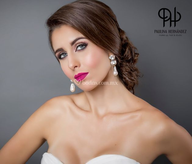 Paulina hernandez maquillista