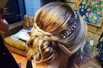 Peinado nupcial de Paulina Hern�ndez Make Up