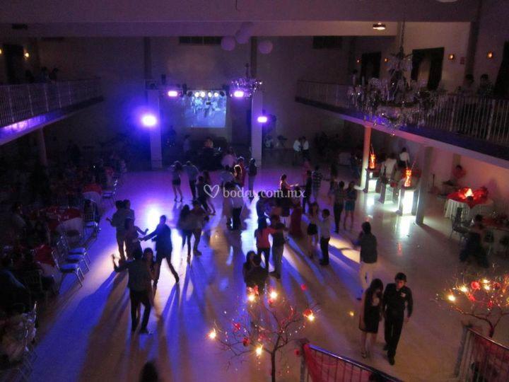 Elegante espacio para eventos