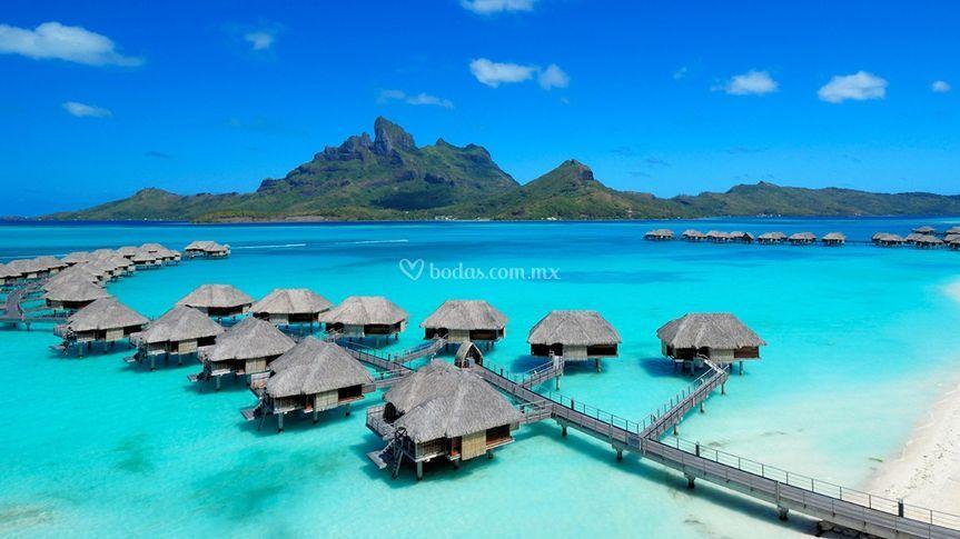 Relájate en Bora Bora