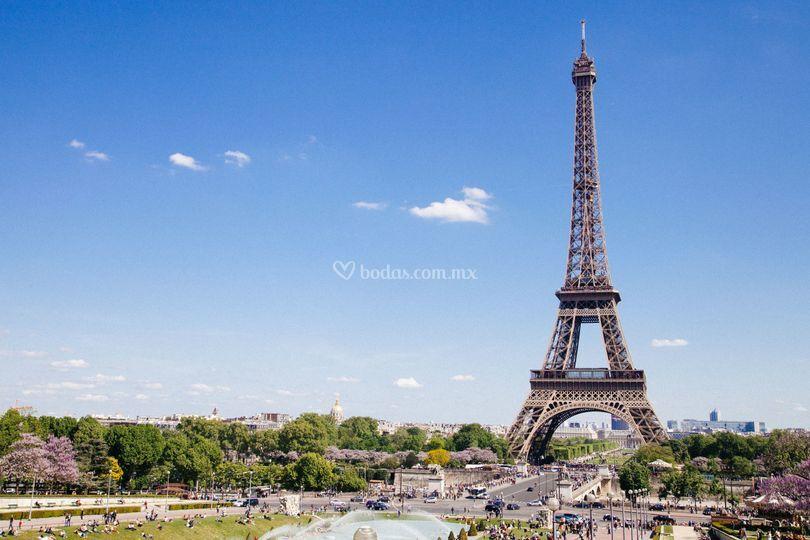Enamórate en Paris