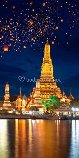Festival de luces en Tailandia