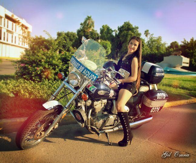 Sesión motocicleta