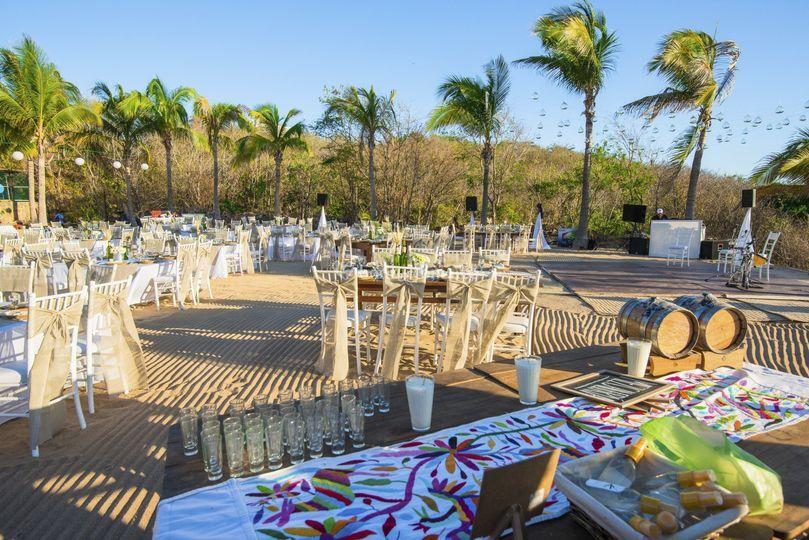 Eventos en playa