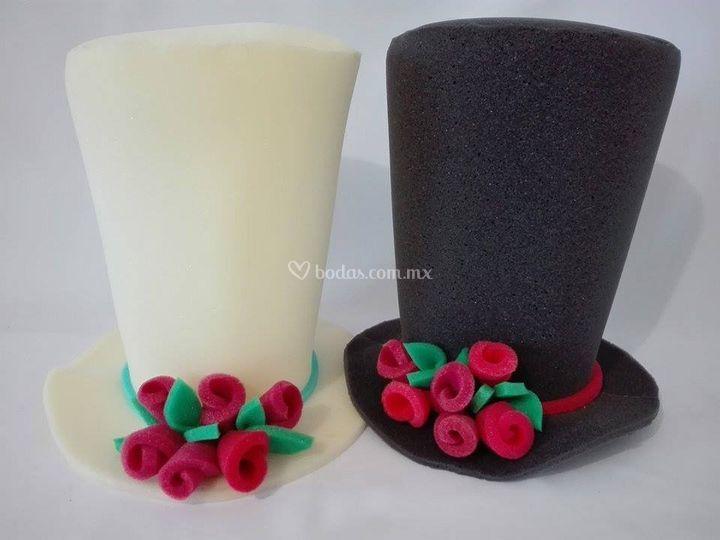 Sombreros novios de Alegría Macarena  23b0d07a5b9