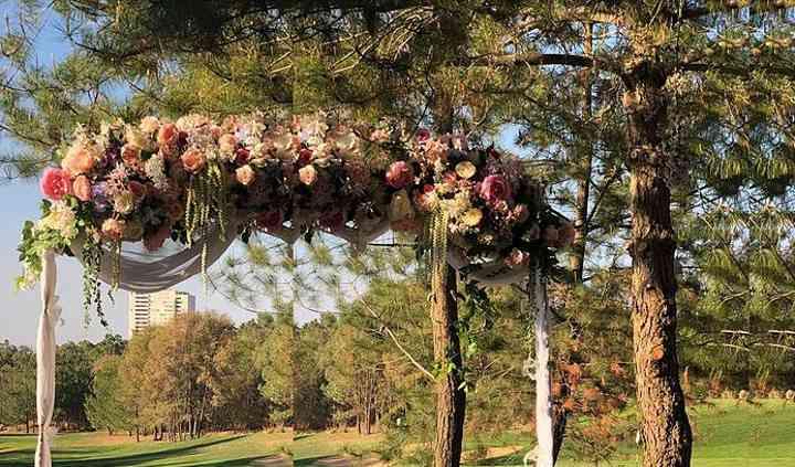 Arco boda civil