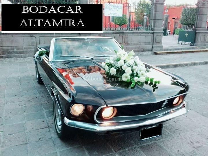 Mustang convertible negro 1969