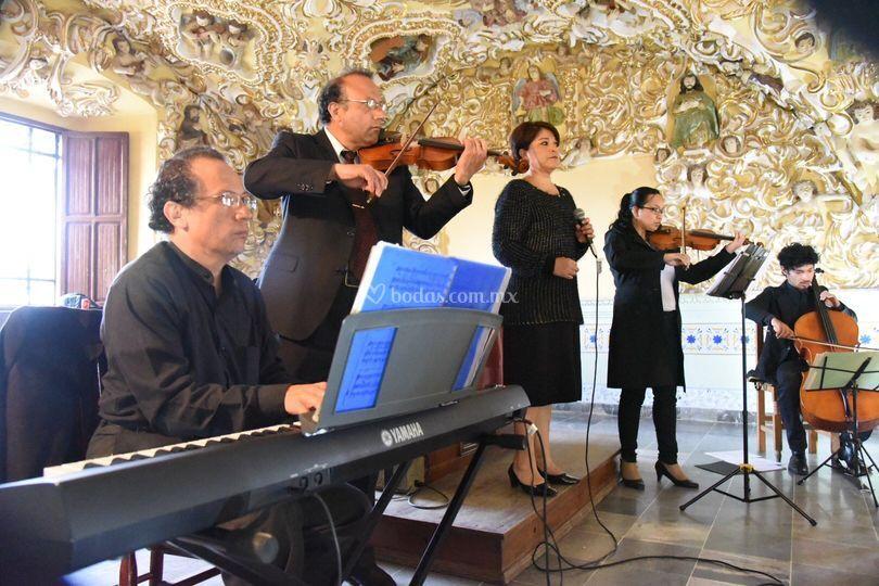 Quinteto para ceremonia religiosa