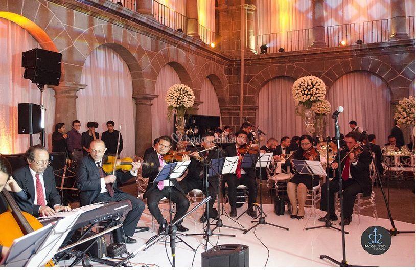 Orquesta para la recepción