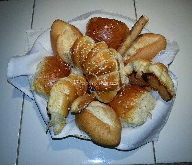 Pan en piezas individuales