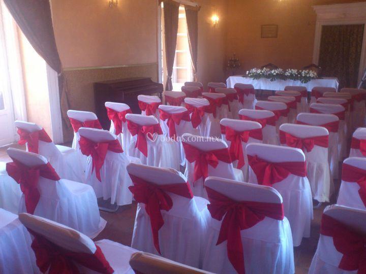 Salon para ceremonia civil