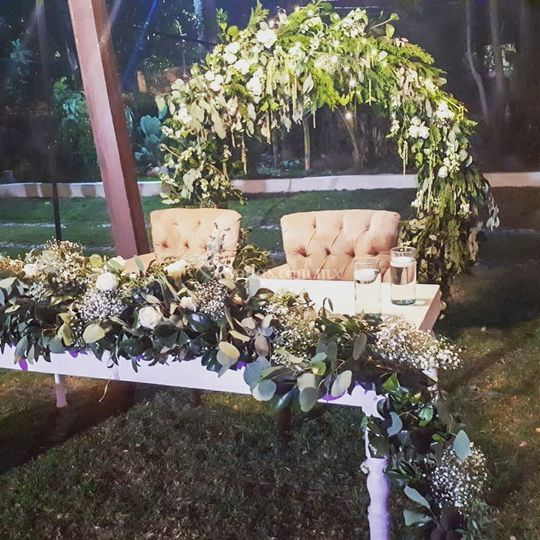 Decoración boda