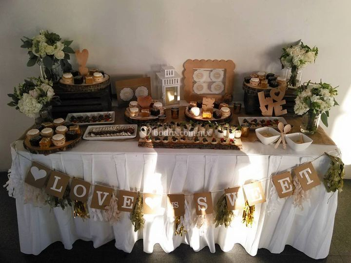 Mesas de dulces