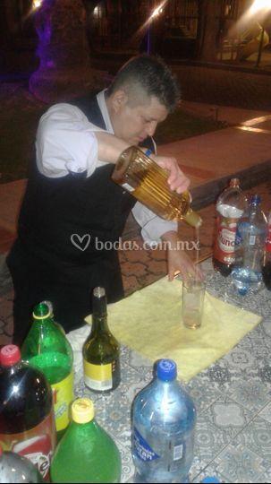 Servicio de bebidas