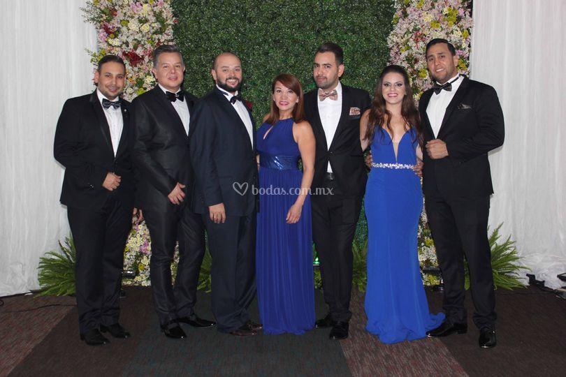 Invitados Atilano y Castillo