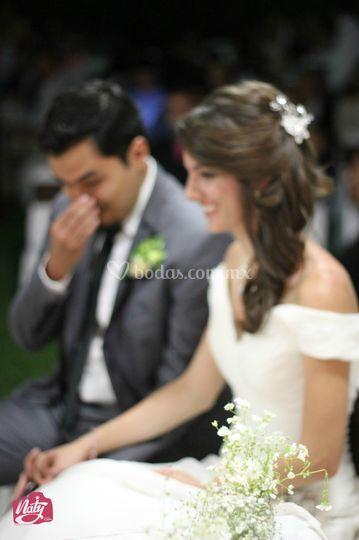 Ceremonia de Daniel y Rebeca