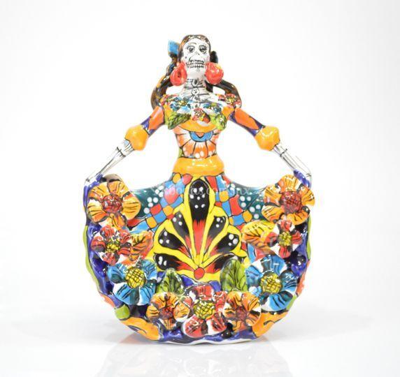 Catrina de cerámica