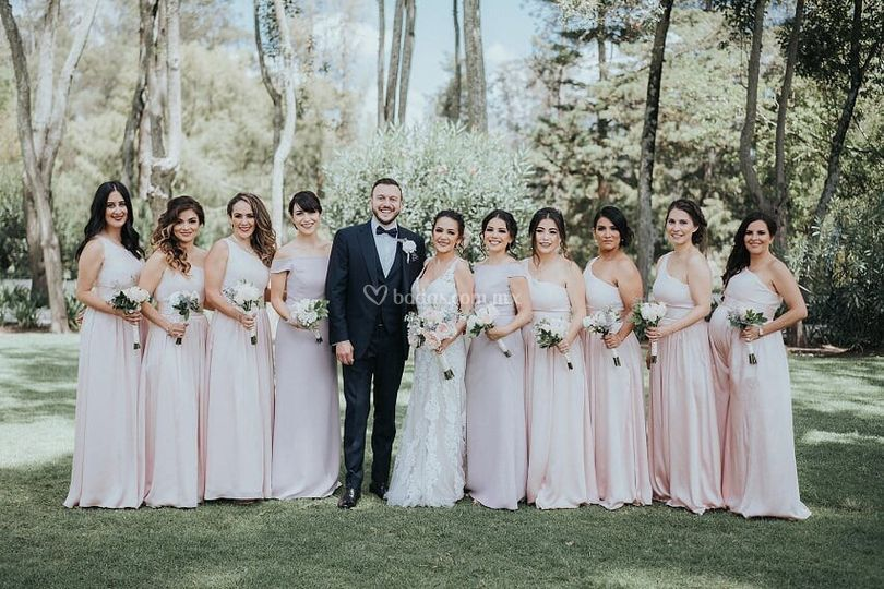 Ramos damas y novia