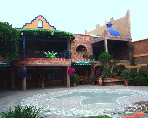Jardin hacienda los ngeles for Jardin xochimilco