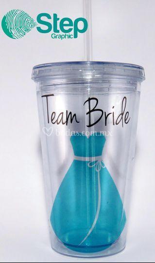 Vaso rígido team bride