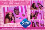 Promocion saba photo booth