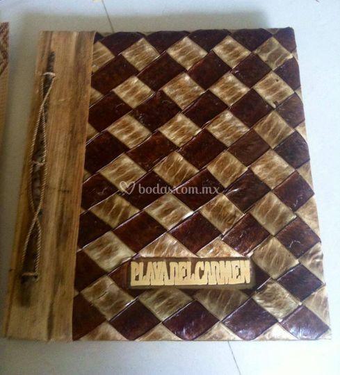 Álbum artesanal, ecológico