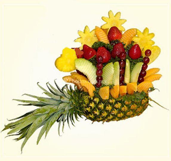 Adornos en fruta