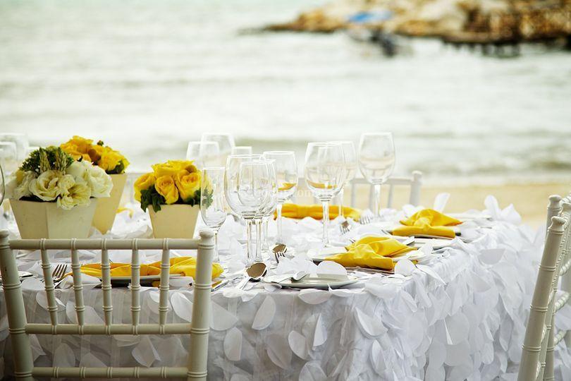 Banquete playa